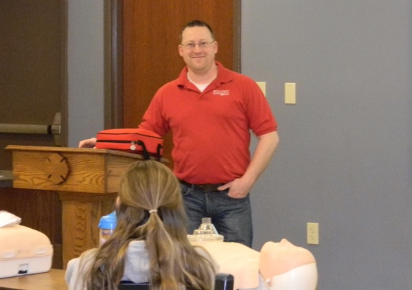 CPR and AED Training offered through the MBSH School Partnership