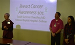 Breast Cancer Awareness 101 Presentation at Missouri Baptist Sullivan Hospital